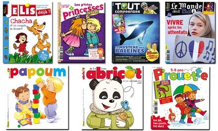 abonnement magazine pour enfant ou ado fleurus presse groupon. Black Bedroom Furniture Sets. Home Design Ideas