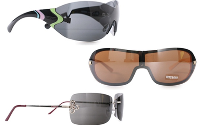 Brand Logic Europe IE: Missoni Ladies Sunglasses in Choice of Style for €35 With Free Delivery (Up to 86% Off)