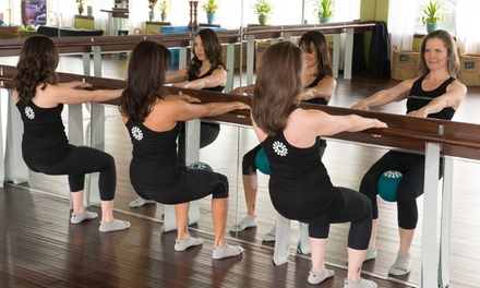 $99 for One Month of Unlimited Women's Barre Fitness Classes at Barre Cleveland ($250 Value)