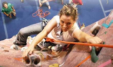 Climbing Pass with Equipment, Three Fitness Classes, or Five-Day Kids' Camp at Edgeworks Climbing (Up to 52% Off)