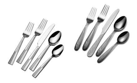 International Silver 20-Piece Flatware Sets | Brought to You by ideel
