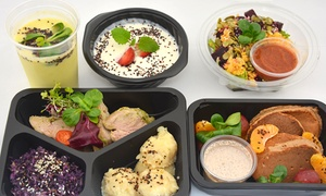 Sztuka Jedzenia Basic : Catering dietetyczny 1000-1200 kcal (189 zł) lub 1500 kcal (199 zł) na 5 dni i więcej z firmą Sztuka Jedzenia Basic