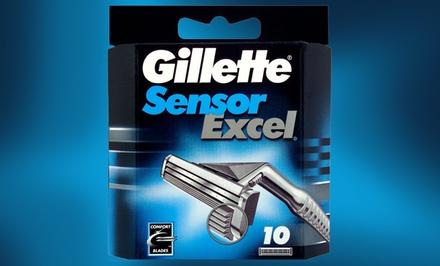 Gillette Sensor Excel Blade-Refill 10-Pack