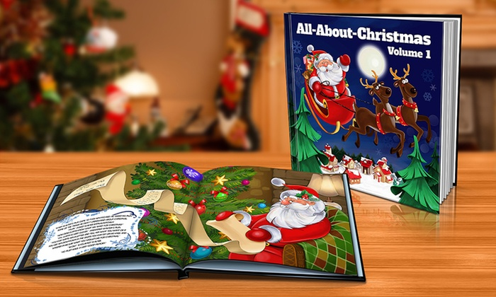 The Christmas Story Book.2 Personalised Xmas Story Book Groupon Goods