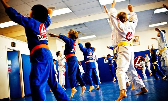 Gracie Barra Brazilian Jiu Jitsu Schaumburg - Schaumburg: Four or Six Weeks of Classes for Kids at Gracie Barra Brazilian Jiu Jitsu (Up to 70% Off)