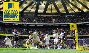 Premiership Rugby: The Aviva Premiership Rugby Final 2016: Child (from £20) or Adult (from £34.60) at Twickenham Stadium (No Booking Fees)