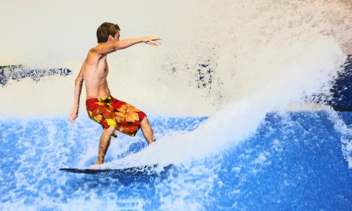 Fantasy Surf - Kissimmee: Two or Four 30-Minute FlowRider Indoor Wave Sessions at Fantasy Surf (Up to 35% Off)