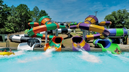 Ocean Breeze Waterpark Visit for Two or Four with Combo Meals and Drinks (Up to 47% Off)