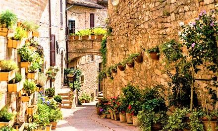 Perugia: 1 o 2 notti con colazione in Castello e 1 cena opzionale Torre della botonta