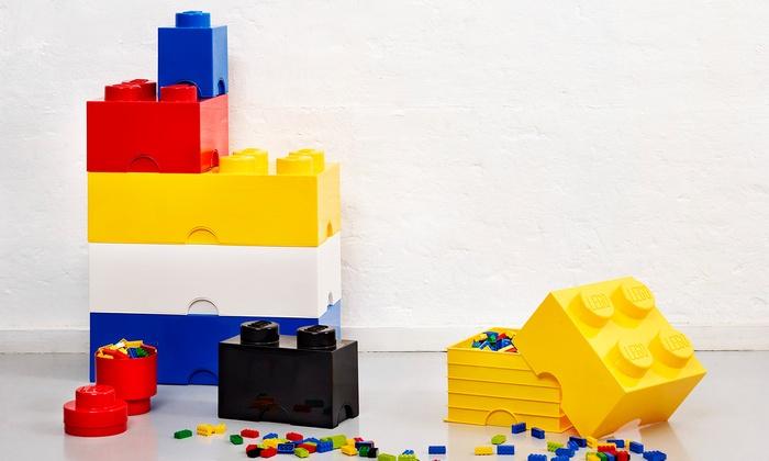 lego storage bricks groupon. Black Bedroom Furniture Sets. Home Design Ideas