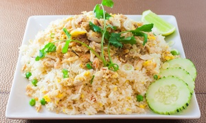 Green Shallots Thai Cafe: Thai Food Dinner for  Two or Four at Green Shallots Thai Cafe (42% Off)