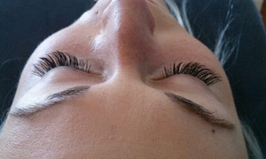 Lashing Out On Main: Full Set of Eyelash Extensions at Lashing out on main (56% Off)