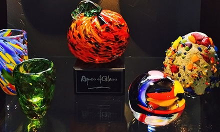 $69 for Glass-Blowing Workshop for Paperweights, Shot Classes, and More at Agnes of Glass ($130 Value)