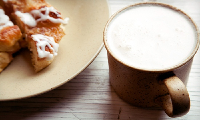 Moon Flight Coffee Drive-Thru - Coraopolis: Coffee, Pastries, and Café Fare at Moon Flight Coffee Drive-Thru in Moon Township (Half Off). Two Options Available.