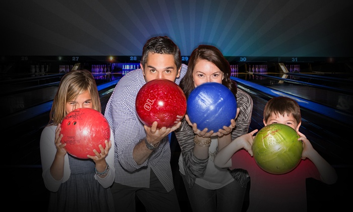 AMF Bowling Co. - AMF Galaxy West Lanes: Two Hours of Bowling and Shoe Rental for Two, Four, or Six at AMF Bowling Co. (Up to 47% Off)