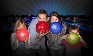 AMF Bowling Co.: Two Hours of Bowling and Shoe Rental for Two, Four, or Six at AMF Bowling Co. (Up to 64% Off)