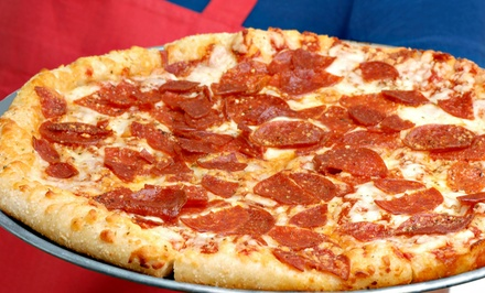 $12.99 for $25 for Pizzeria Cuisine at Pizza Ultimate