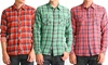 Civil Society Men's Woven Button-Up Shirts: Civil Society Men's Woven Long-Sleeve Button-Up Shirts.