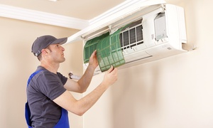 Ac Services and maintenance work: Window AC (AED 125) or Split AC (AED 155) Service with AC Services and Maintenance Work (Up to 56% Off)