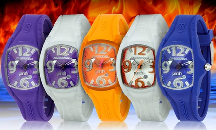 Chronotech Women's Silicone Watch. Multiple Colors Available.
