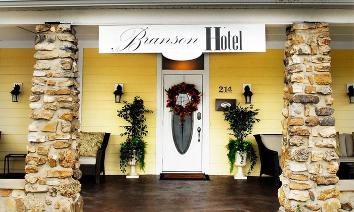 The Branson Hotel - Branson: One-Night Stay and Breakfast at The Branson Hotel in Branson, MO