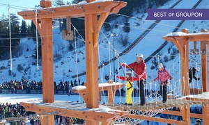 Utah Olympic Park: Unlimited Day of Activities for 2 Youths or 2 Adults at Utah Olympic Park (Up to 50%Off). 4 Options Available.