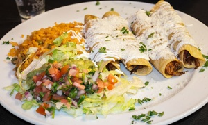 Blue Agave Mexican Bar & Grill: Mexican Food at Blue Agave Mexican Bar & Grill (Up to 54% Off). Three Options Available.