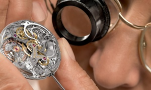 Crown Jewelers: Watch-Battery Replacement with Installation from Crown Jewelers (55% Off)