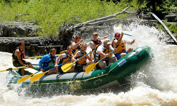 Teton Whitewater LLC - Jackson Hole: Four-Hour Scenic Jackson Hole Rafting Trip for One or Four from Teton Whitewater LLC (Up to 59% Off)