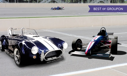 3-Lap Ride-Along or 5- or 10-Lap Formula Car Driving Experience at The Formula Experience (Up to 51% Off)