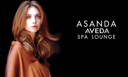 All-Over Color, Highlights, or Ombre or Balayage Artistry Color at Asanda Aveda Spa Lounge (Up to 51% Off)