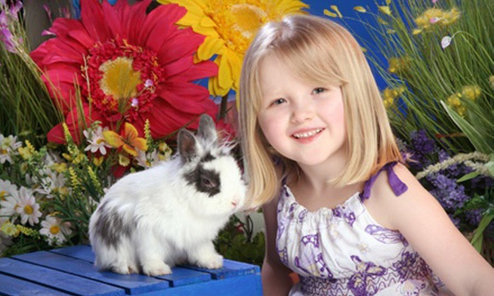 Yuen Lui Studio - Multiple Locations: $ 49 for an Easter Bunny Photo Shoot with Prints and a Digital Image at Yuen Lui Studio ($ 485 Value)