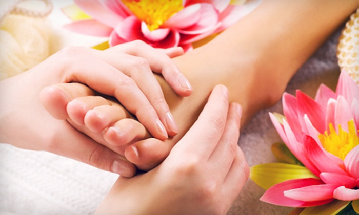 Bellezza Mia Spa - Oakville: 45-Minute Reflexology Session with Optional Pedicure at Bellezza Mia Spa (Up to 53% Off)