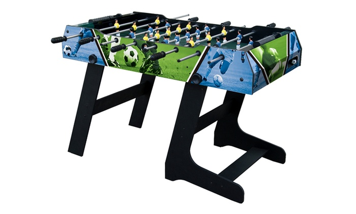Foldable football table groupon goods for Epl league table 98 99