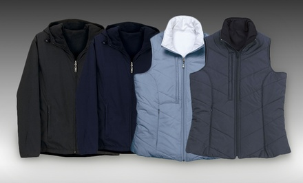 Vantage Women's Reversible Quilted Vest or Microfiber Vantek Jacket from $29.99–$35.99. Free Returns.