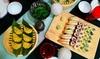 Menú de sushi para 2 personas