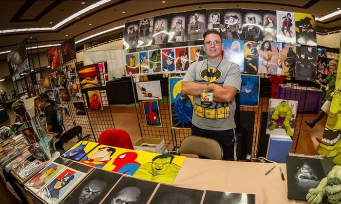 Comic & Media Expo - Downtown Mesa: Fast Pass VIP Weekend Badge and Signed Art for One, Two, or Four at Comic & Media Expo (Up to 70% Off)