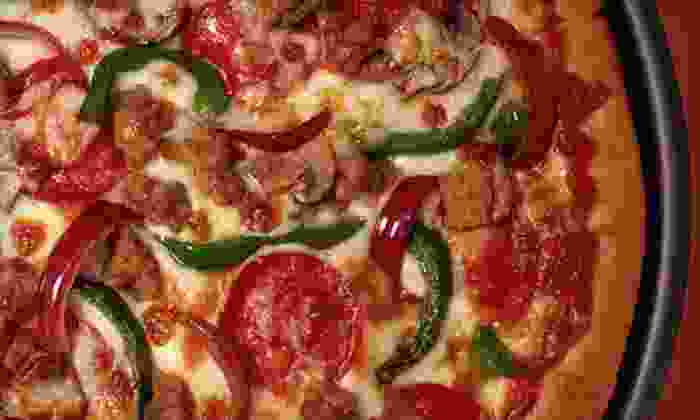 Straw Hat Pizza - Rebeiro: $15 for $30 Worth of Pizzeria Food at Straw Hat Pizza