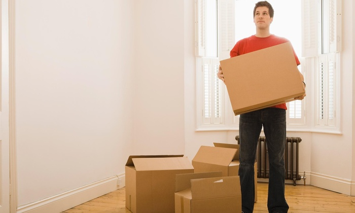 Can't Stop Moving - Back Bay: Two Hours of Moving Services with Two Movers and One Truck from Can't Stop Moving (45% Off)