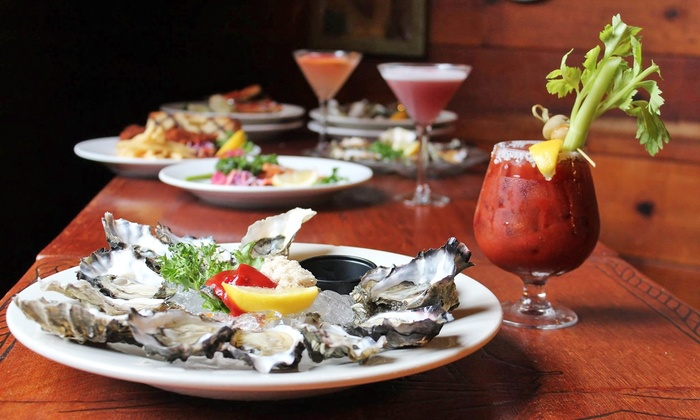Dan and Louis Oyster Bar - Portland: Oyster Plate with Optional Beer, Wine, or Cocktail at Dan and Louis Oyster Bar (Up to 33% Off)