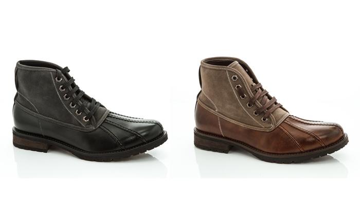 Adolfo Doug Men's Lace-Up Boots