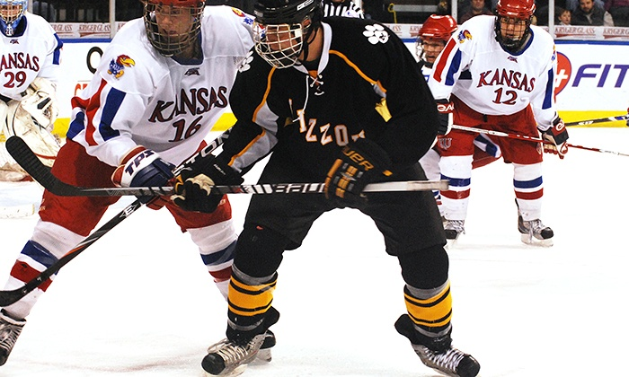 sale retailer 42f54 bf216 Hockey Border Showdown Between the Kansas Jayhawks and Missouri Tigers on  February 11 at 7 p.m.