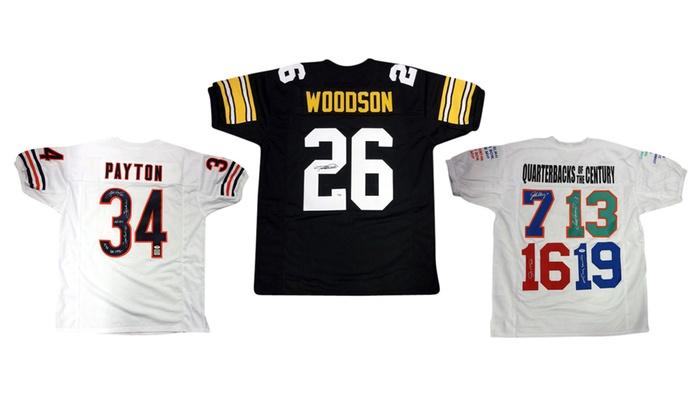 NFL Legends Autographed Jerseys