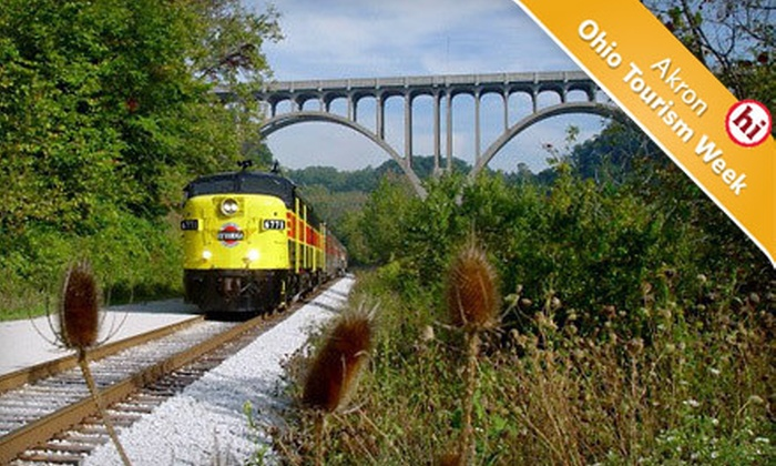 Cuyahoga Valley Scenic Railroad - Multiple Locations: $15 for a Three-Hour Trip for Two Aboard the Cuyahoga Valley Scenic Railroad (Up to $30 Value)