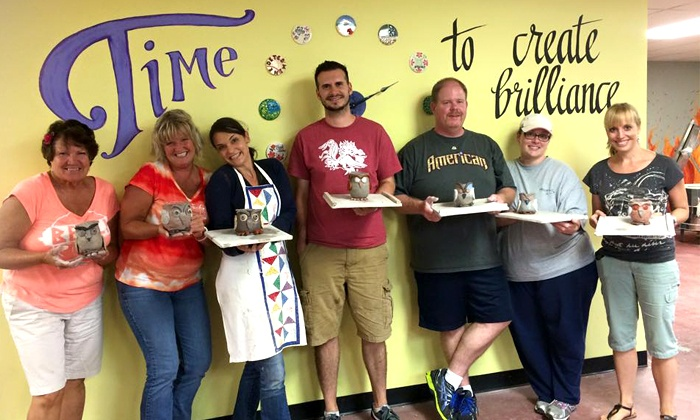 Art Smart Academy - Art Smart Academy: Clay-Working or Canvas-Painting Classes for Two Adults at Art Smart Academy (Up to 51% Off)