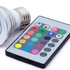 Color-Changing LED Light Bulbs with Remote (3-Pack)