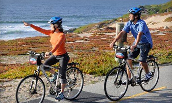 Blazing Saddles - Monterey: Full-Day Hybrid Bike Rental for Two or Four from Blazing Saddles (50% Off)