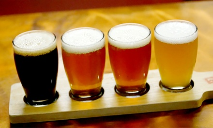 Beer Tasting Experience with Flight, Pints, and Souvenir Growler at Decibel Brewing (Up to 53% Off)