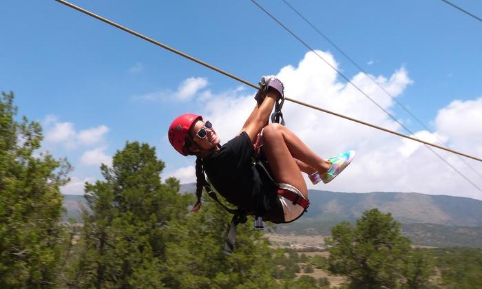 Royal Gorge Zip Line Tours - Cañon City: $52 for a Zipline Tour with Nine Lines from Royal Gorge Zip Line Tours ($98 Value)