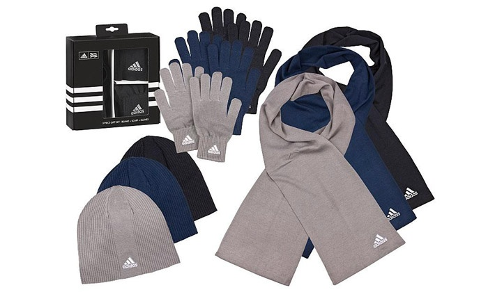 Echarpe, gants, bonnet Adidas   Groupon Shopping b22f1b07eb7